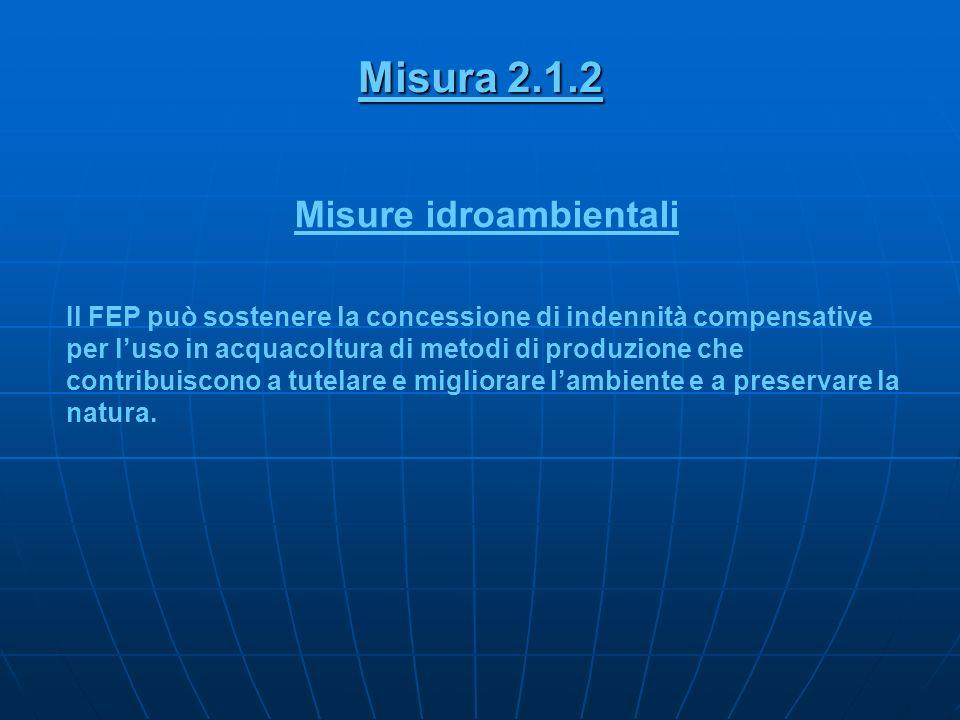Misure idroambientali