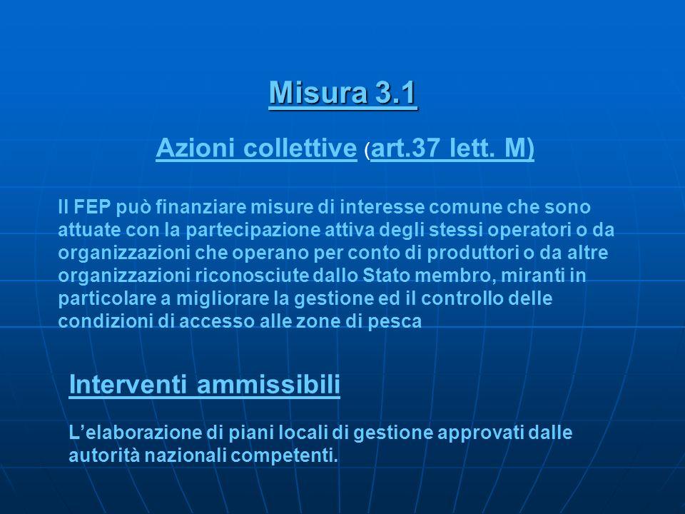 Azioni collettive (art.37 lett. M)