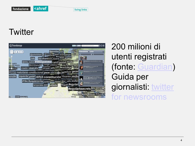 200 milioni di utenti registrati (fonte: Guardian)