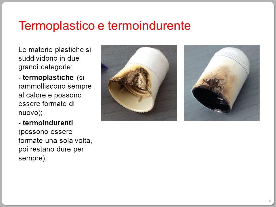 Termoplastico e termoindurente