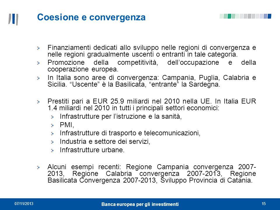 Coesione e convergenza