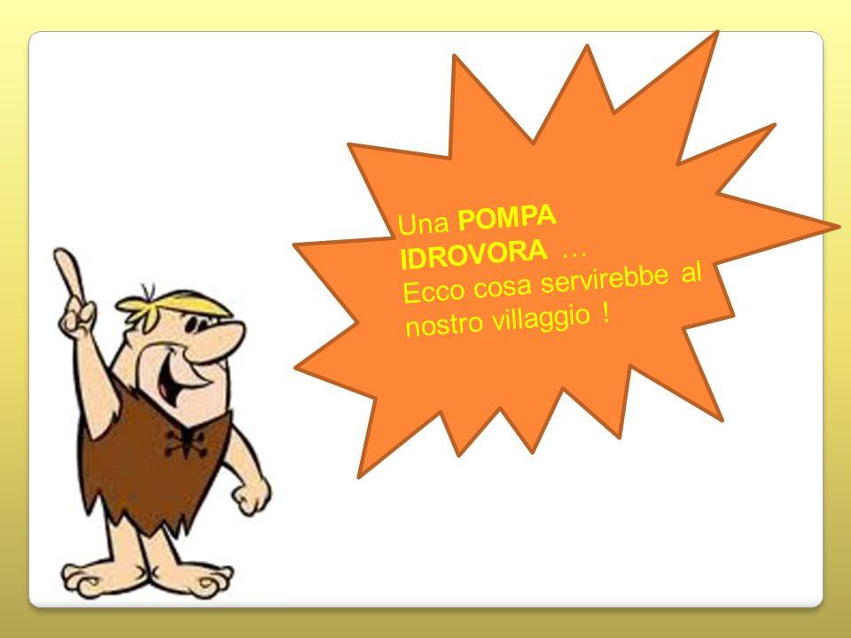 Una POMPA IDROVORA … Ecco cosa servirebbe al nostro villaggio !