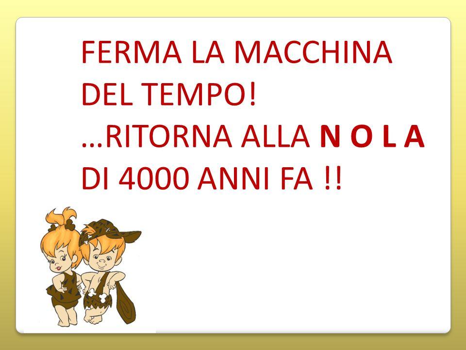FERMA LA MACCHINA DEL TEMPO!