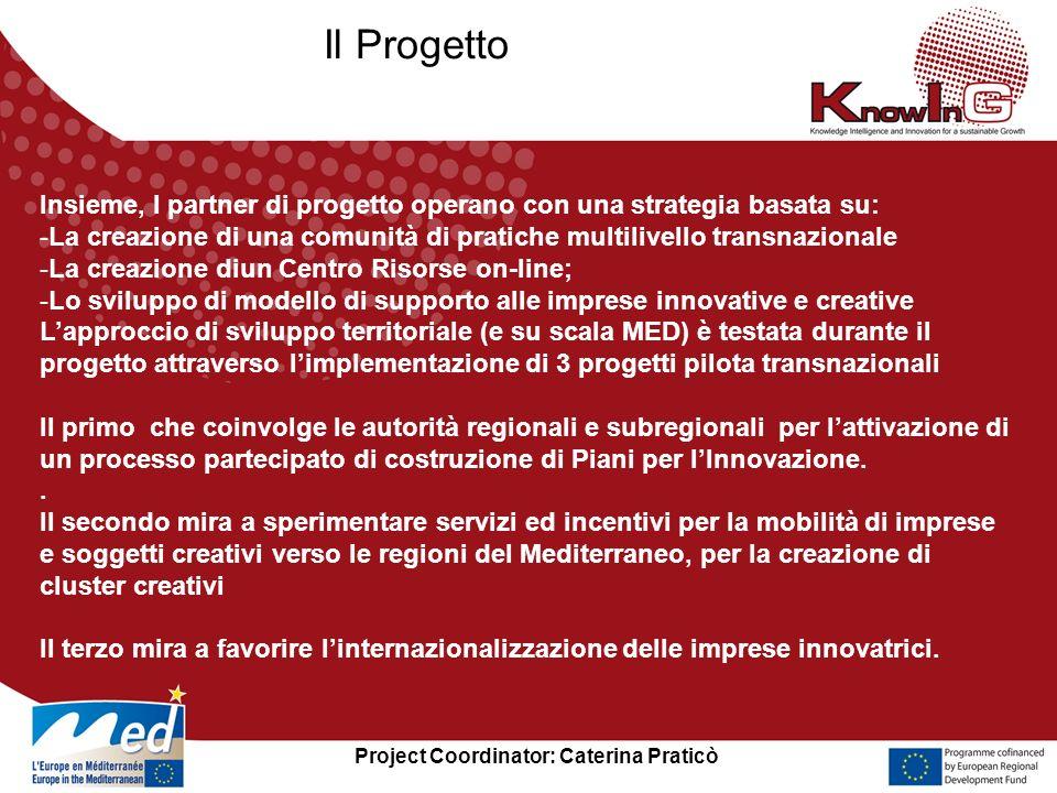 Project Coordinator: Caterina Praticò