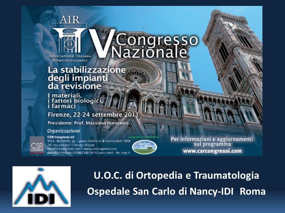 U.O.C. di Ortopedia e Traumatologia