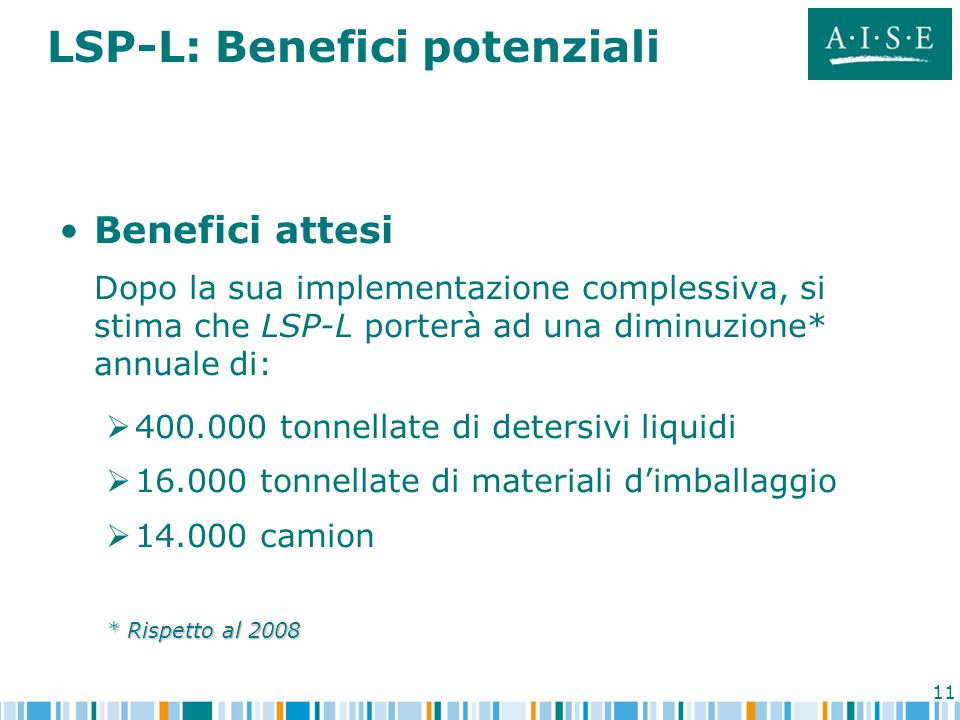 LSP-L: Benefici potenziali