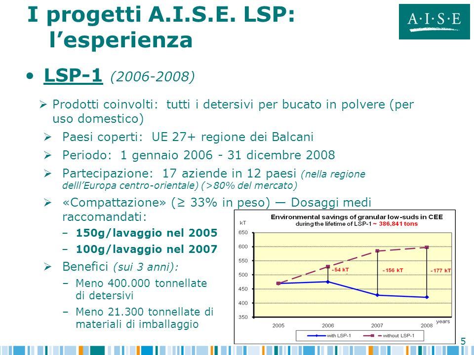 I progetti A.I.S.E. LSP: l'esperienza