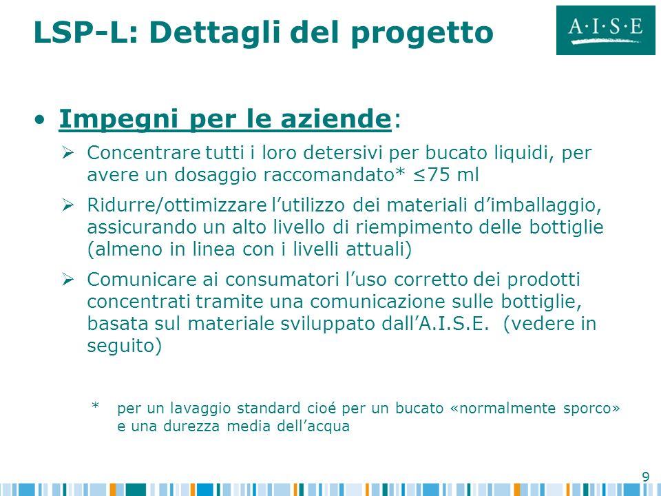 LSP-L: Dettagli del progetto