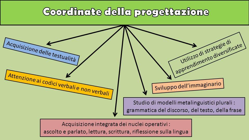 Coordinate della progettazione
