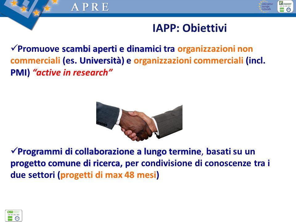 IAPP: Obiettivi