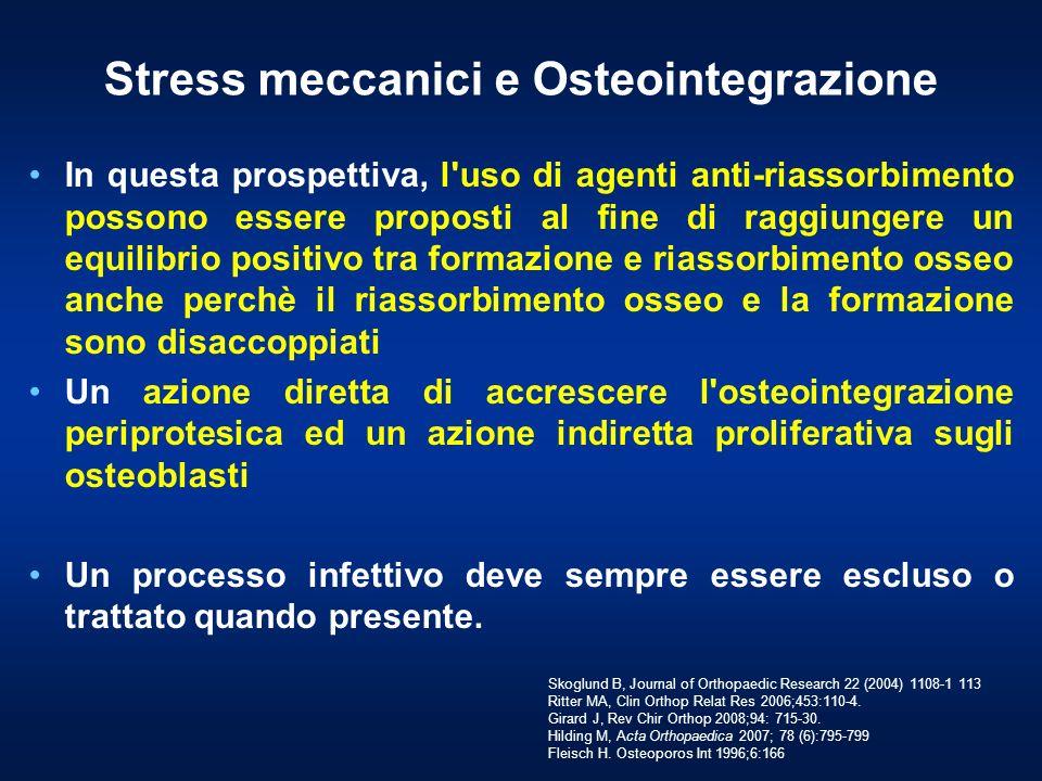 Stress meccanici e Osteointegrazione
