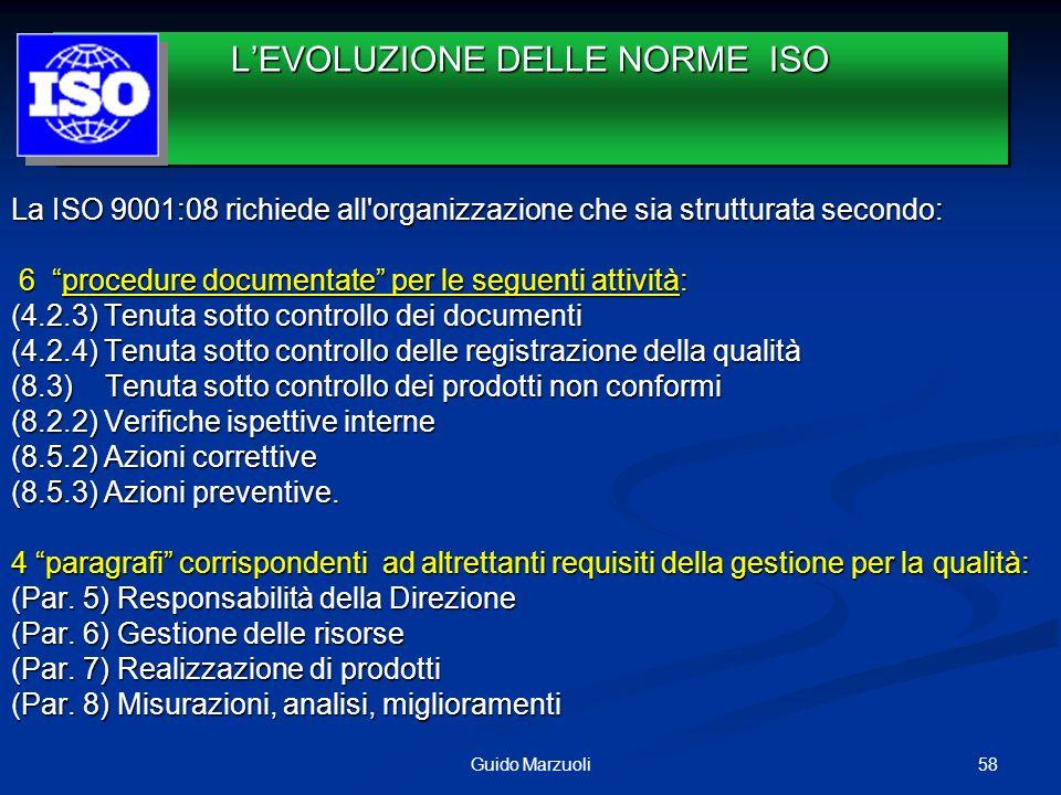 L'EVOLUZIONE DELLE NORME ISO