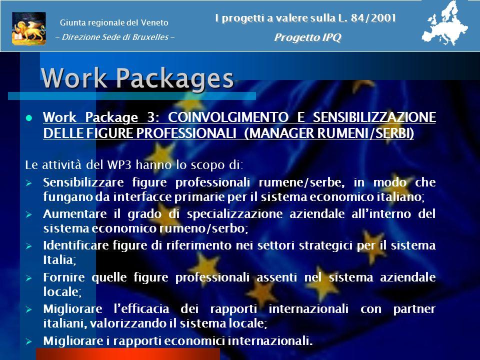 I progetti a valere sulla L. 84/2001
