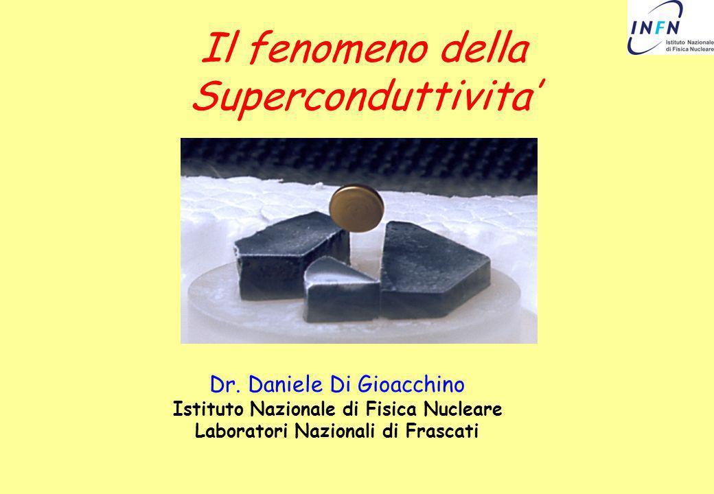 Il fenomeno della Superconduttivita'