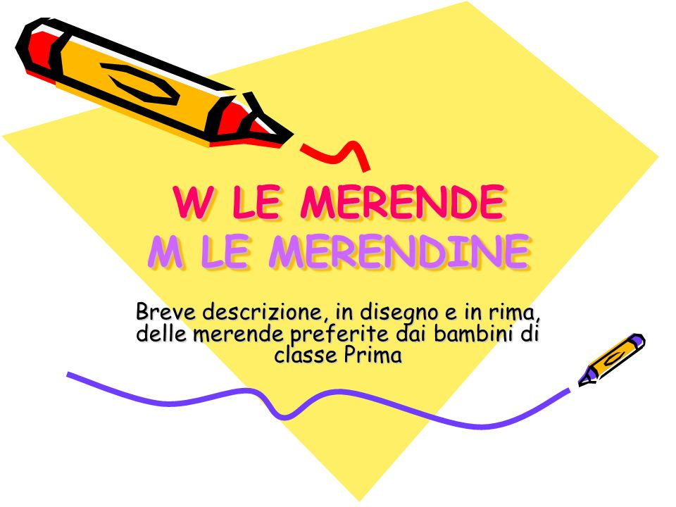W LE MERENDE M LE MERENDINE