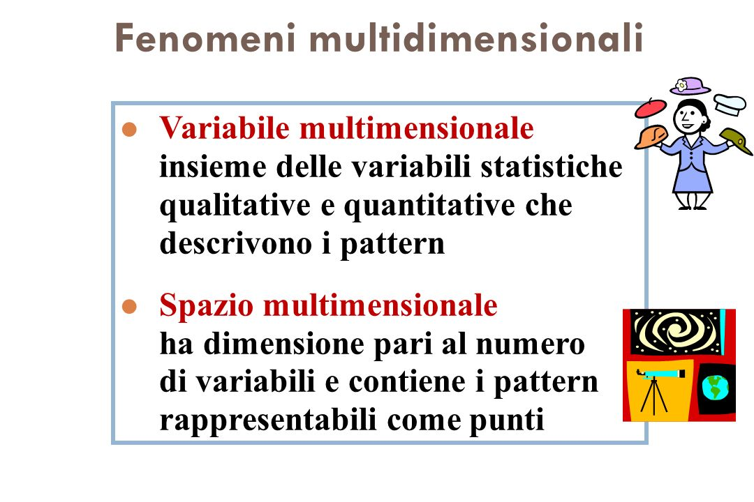Fenomeni multidimensionali