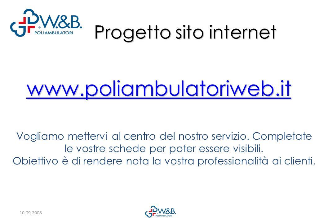 Progetto sito internet