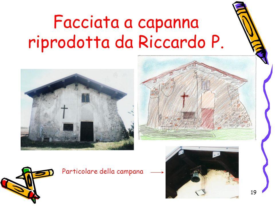 Facciata a capanna riprodotta da Riccardo P.