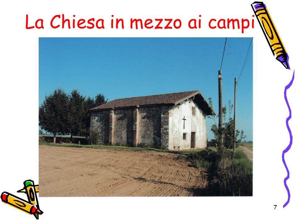 La Chiesa in mezzo ai campi