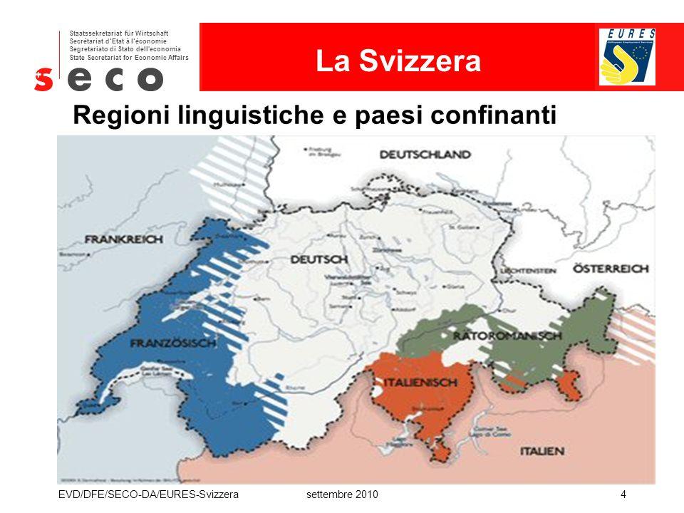 Regioni linguistiche e paesi confinanti