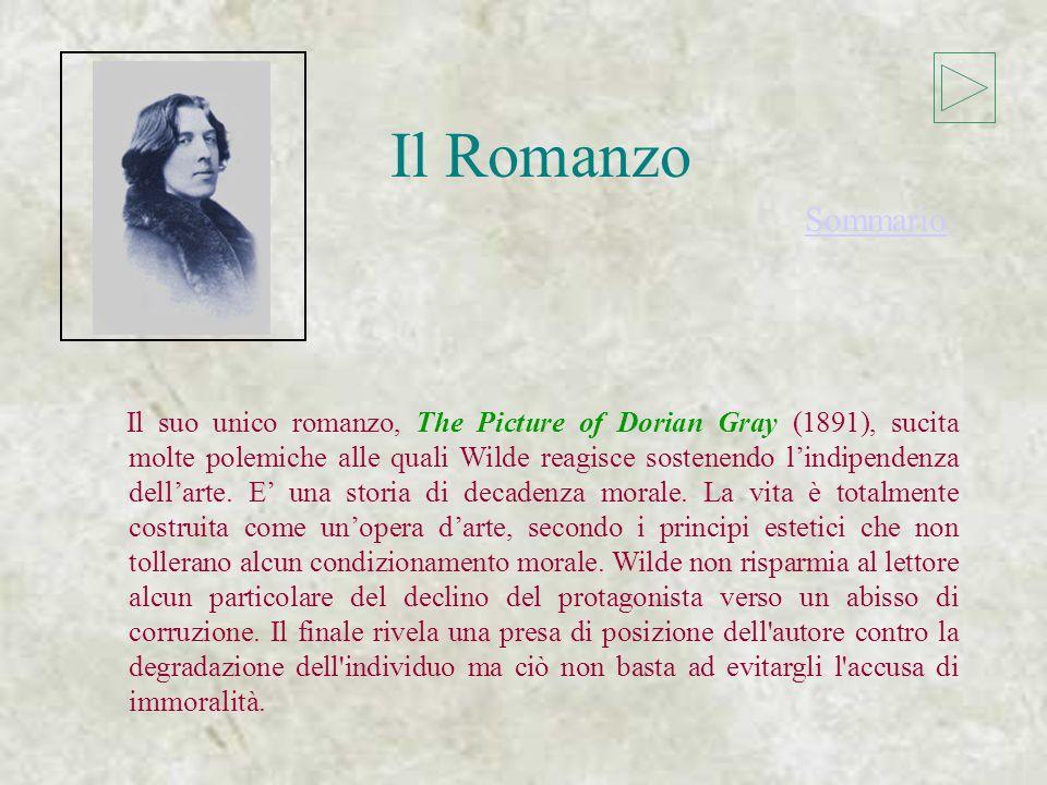 Il Romanzo Il Romanzo Sommario