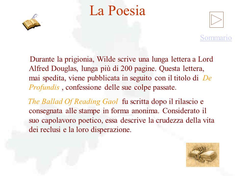 La Poesia La Poesia Sommario