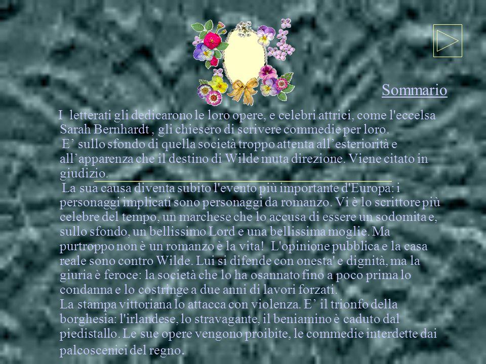 Sommario I letterati gli dedicarono le loro opere, e celebri attrici, come l eccelsa Sarah Bernhardt , gli chiesero di scrivere commedie per loro.