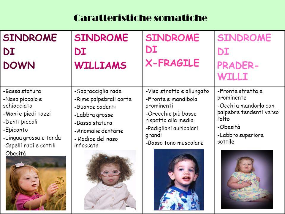 Caratteristiche somatiche