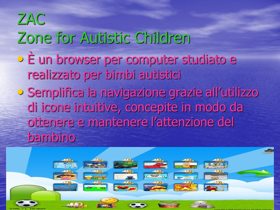 ZAC Zone for Autistic Children
