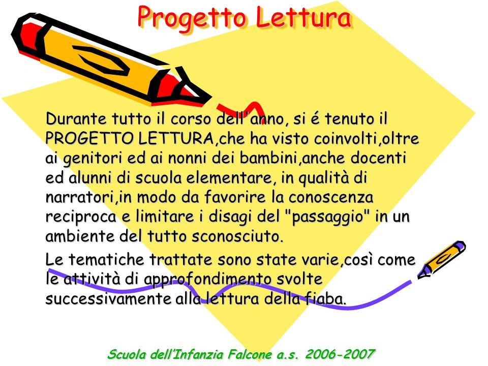 Scuola dell'Infanzia Falcone a.s. 2006-2007