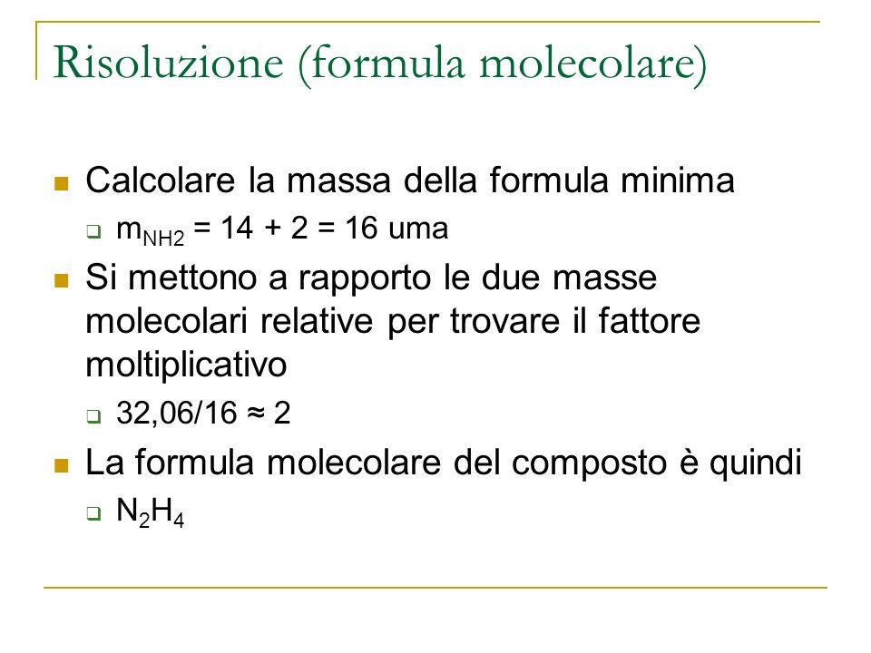 Risoluzione (formula molecolare)
