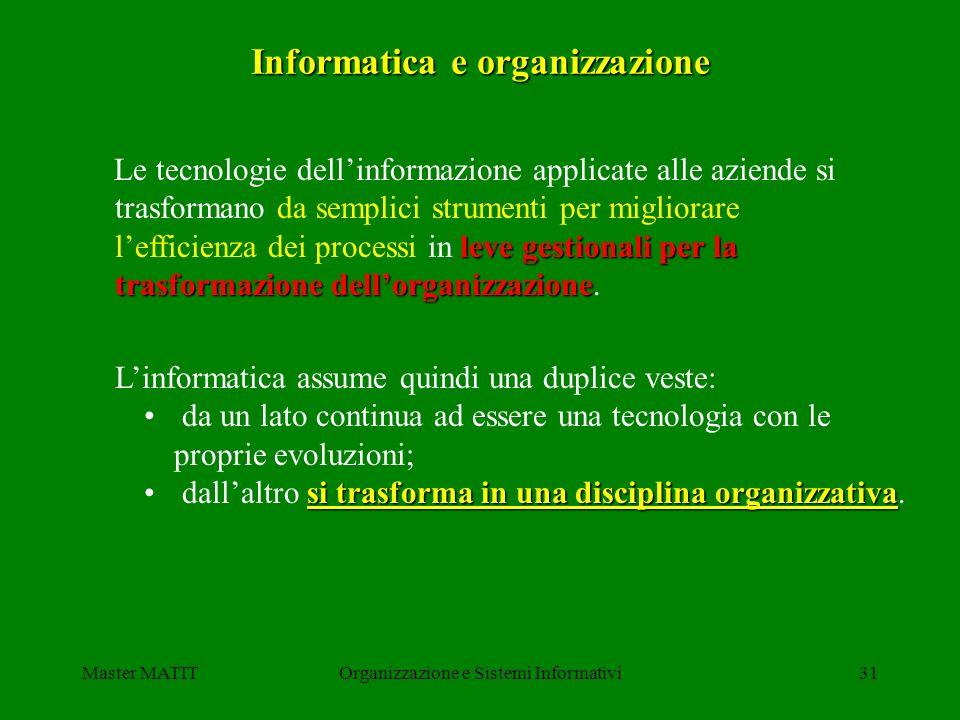 Informatica e organizzazione