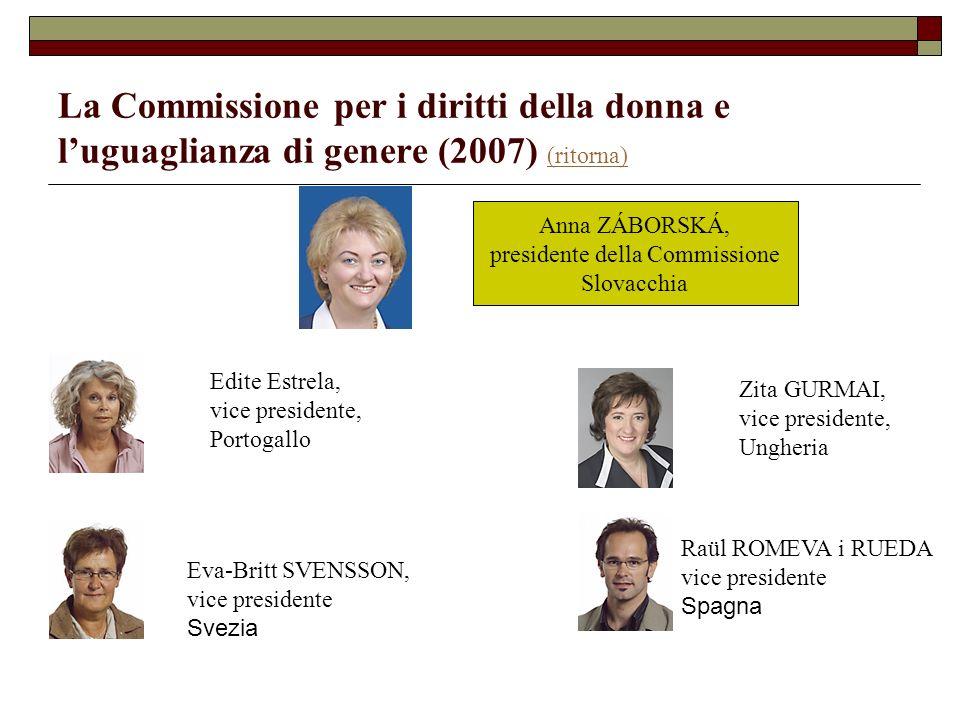 presidente della Commissione