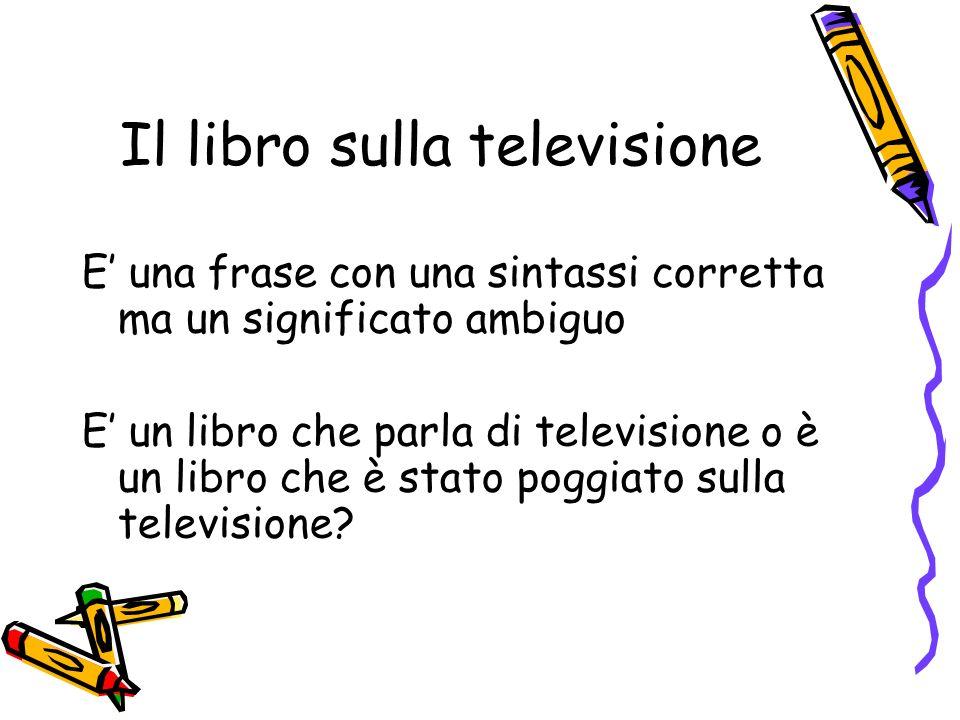 Il libro sulla televisione