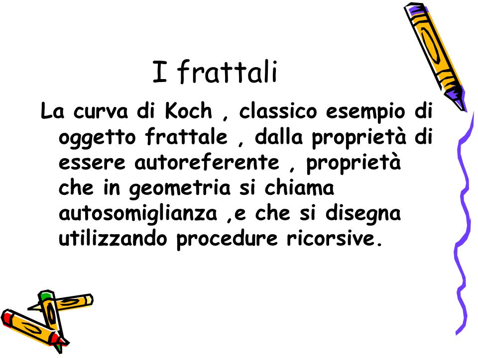 I frattali