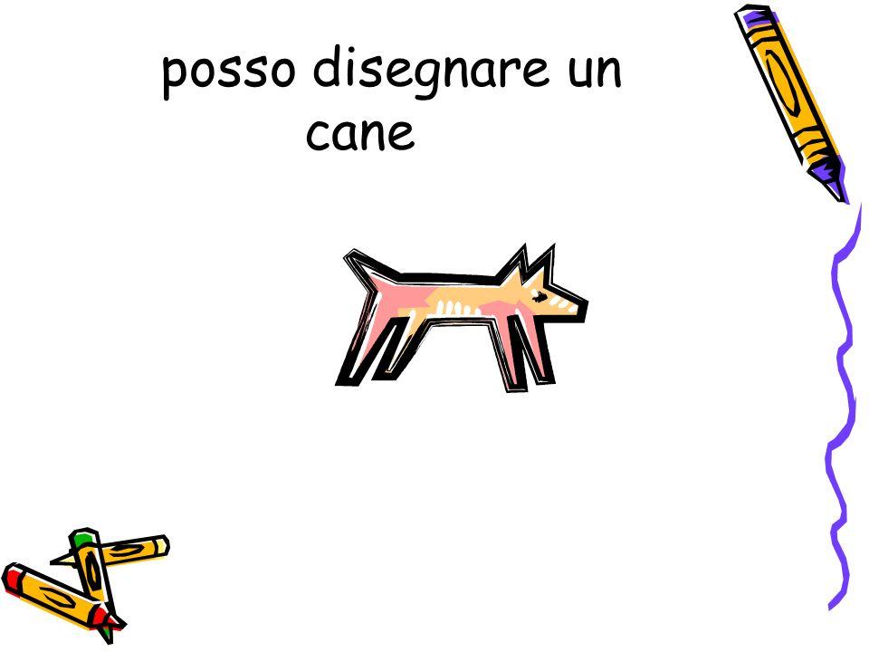 posso disegnare un cane