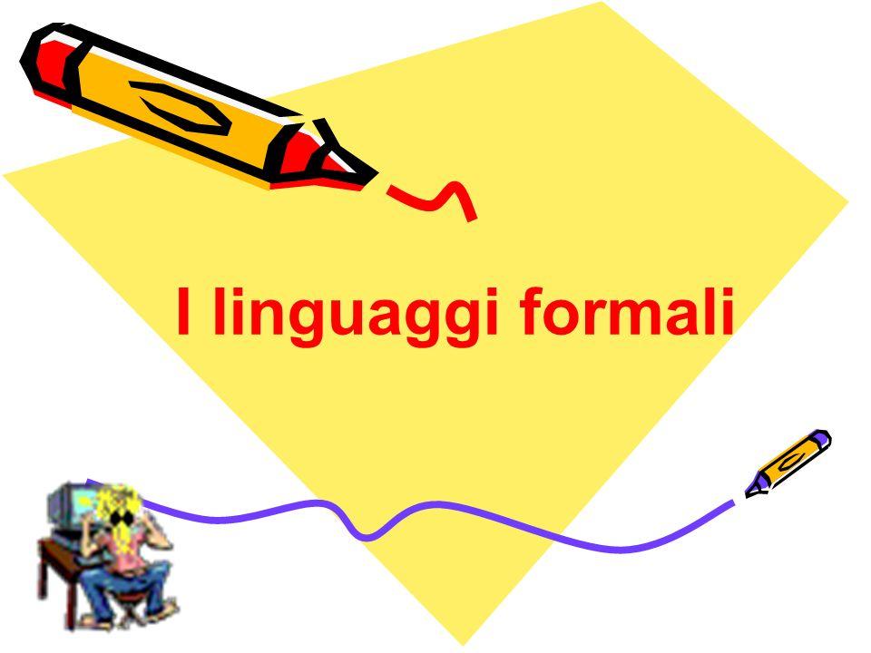 I linguaggi formali