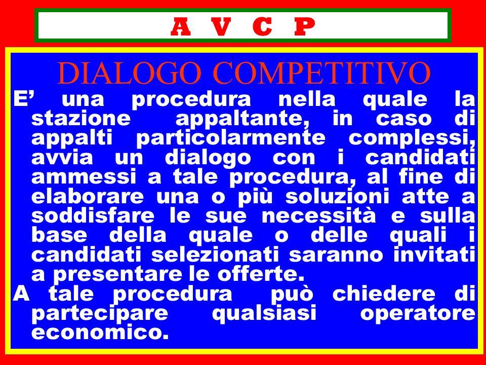 DIALOGO COMPETITIVO A V C P