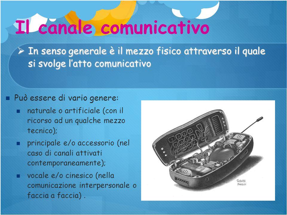 Il canale comunicativo