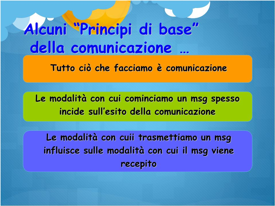 Tutto ciò che facciamo è comunicazione