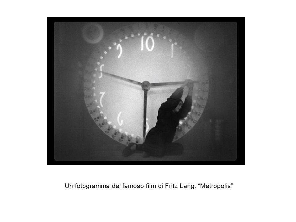 Un fotogramma del famoso film di Fritz Lang: Metropolis