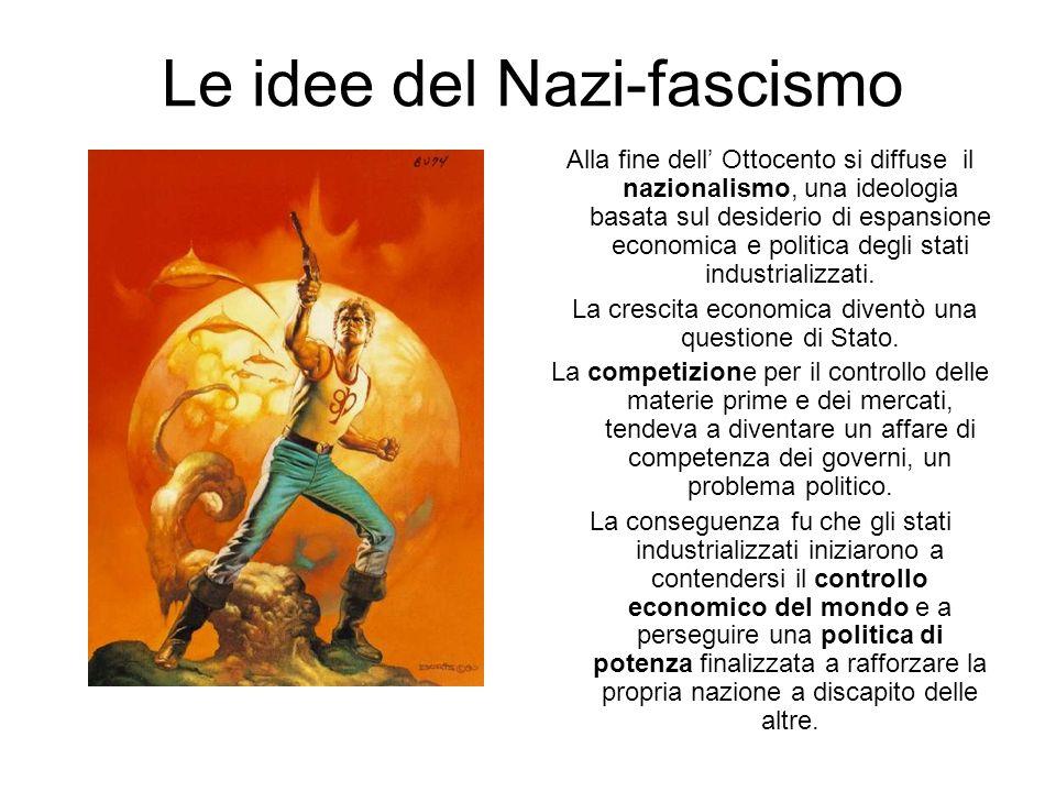 Le idee del Nazi-fascismo