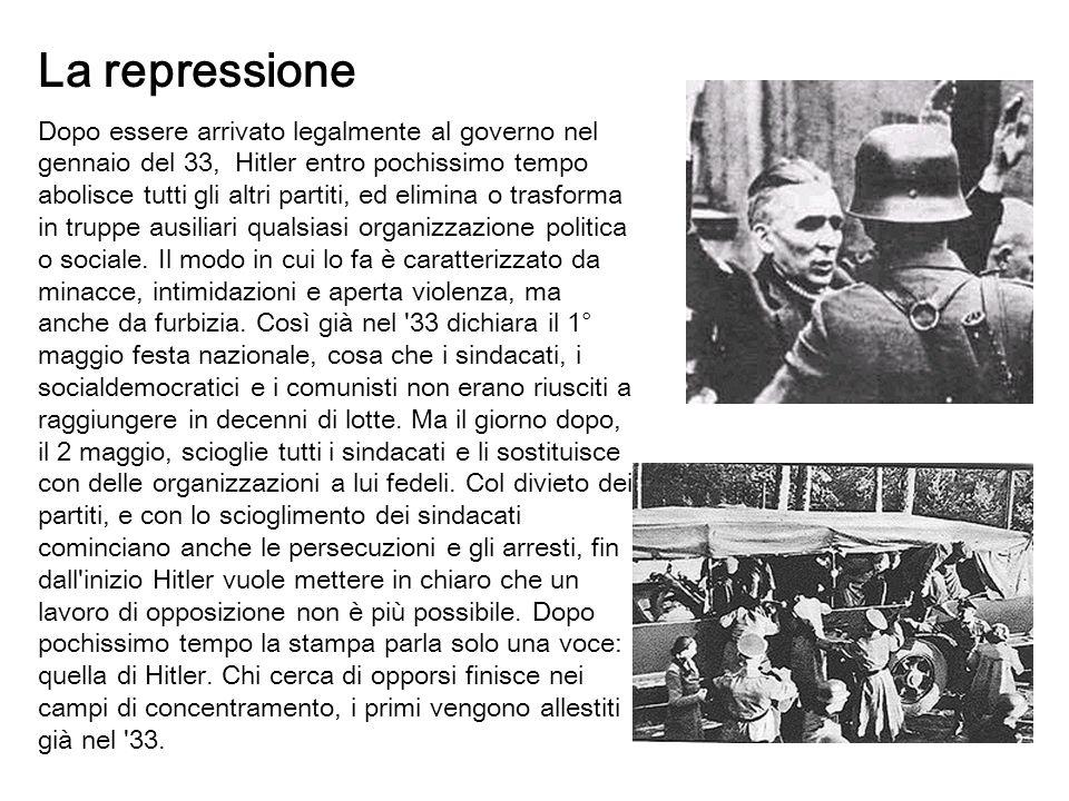 La repressione