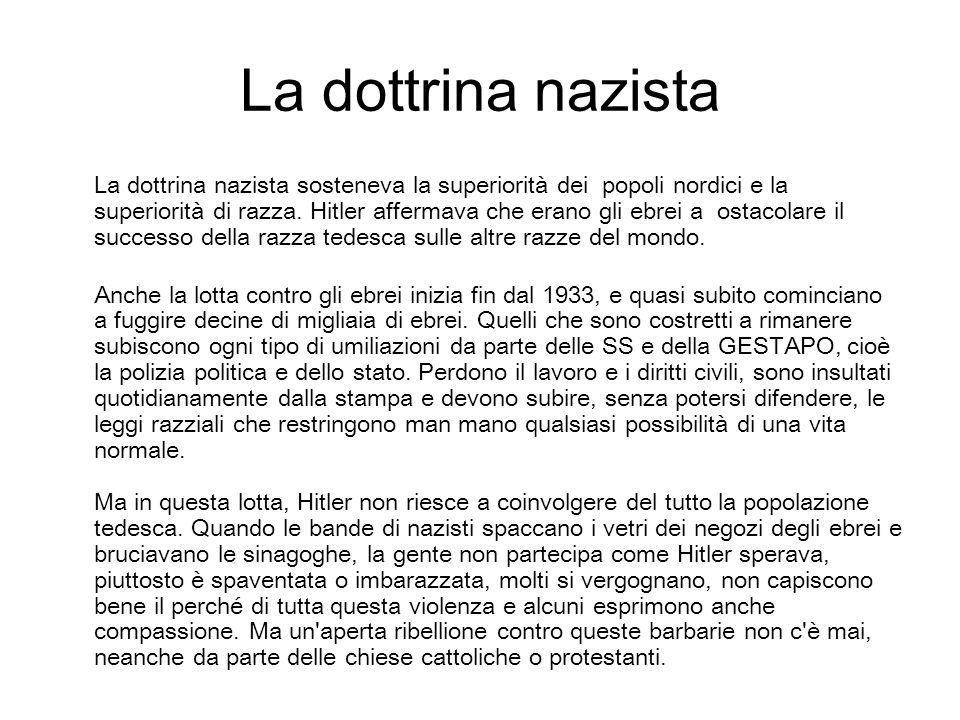 La dottrina nazista
