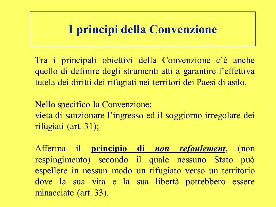I principi della Convenzione