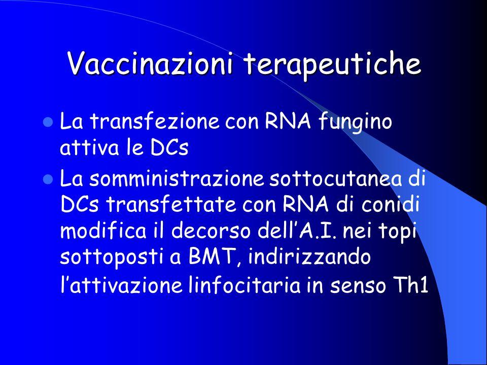 Vaccinazioni terapeutiche