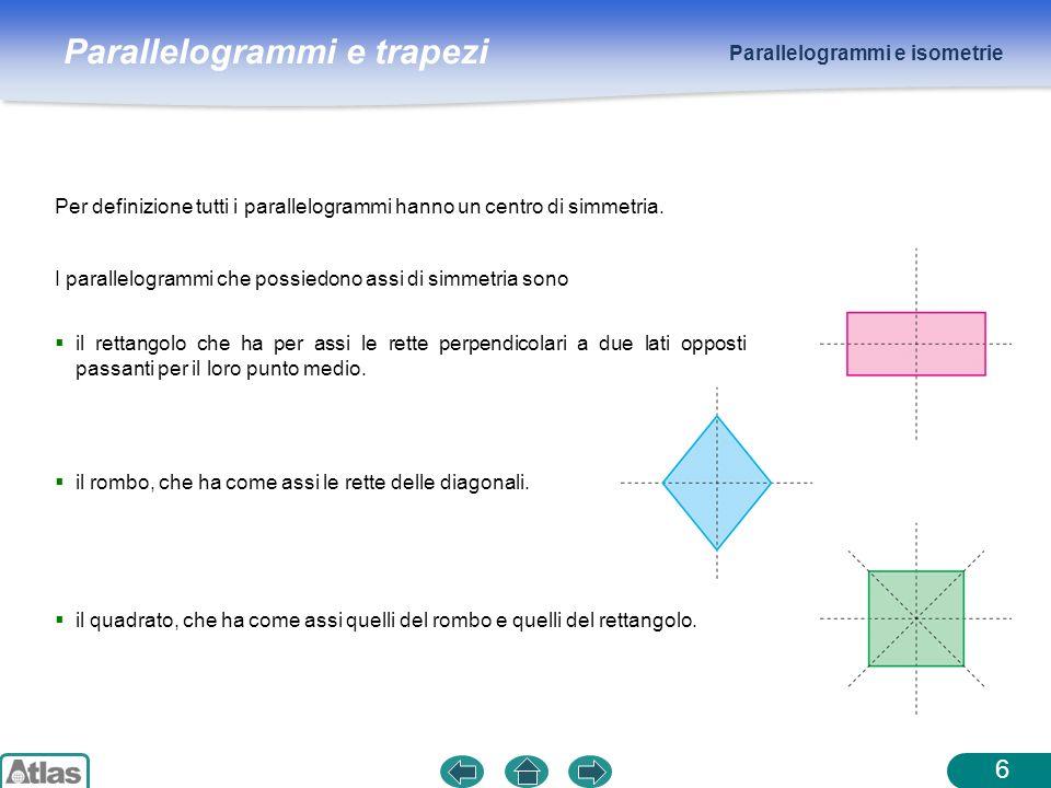 Parallelogrammi e isometrie