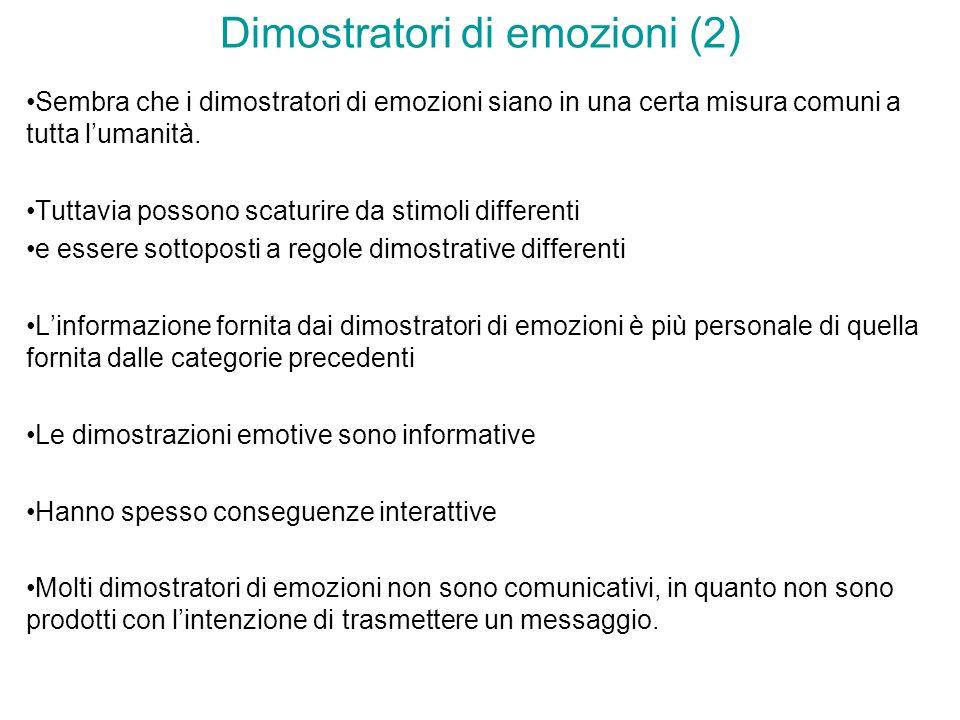 Dimostratori di emozioni (2)