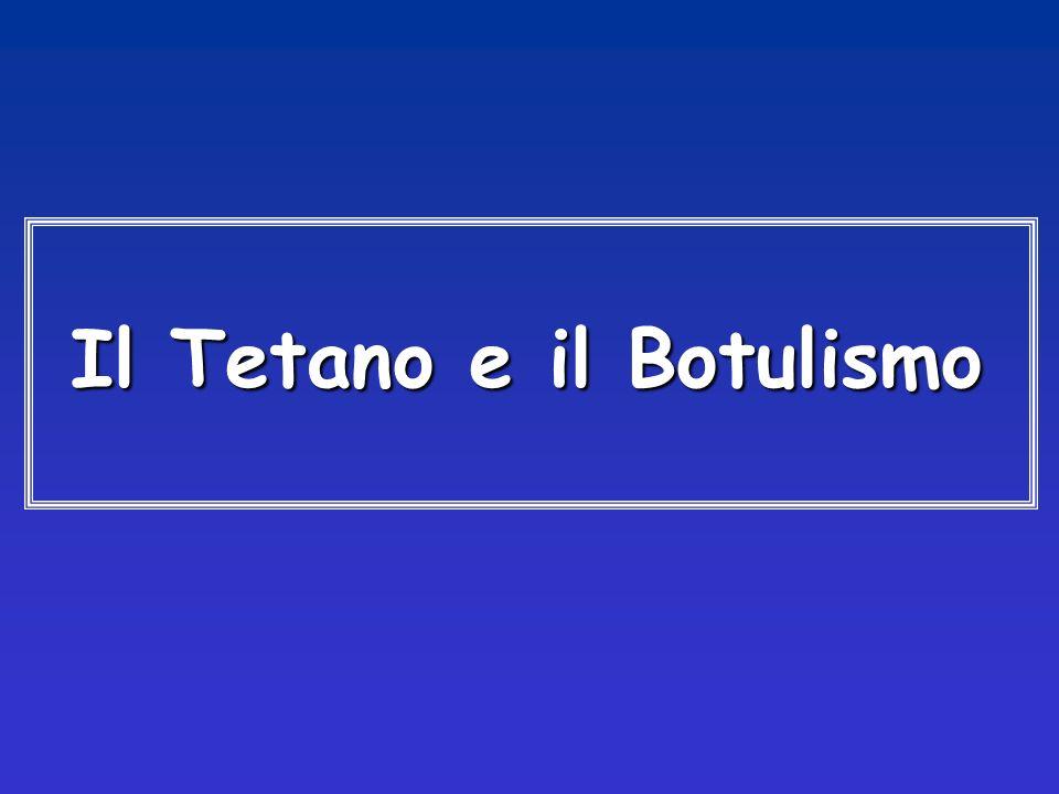 Il Tetano e il Botulismo