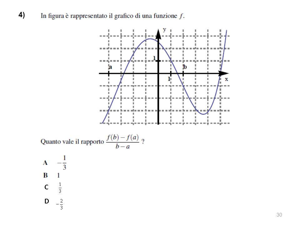4) C D